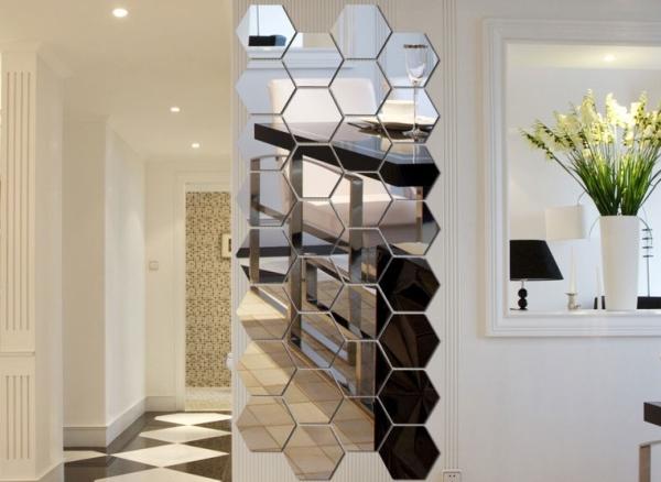 Дизайн и интерьер - декор квартиры зеркалами