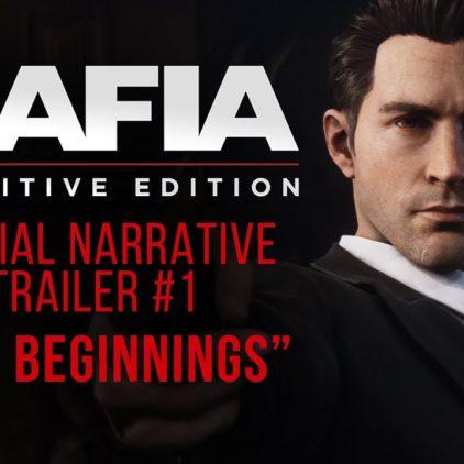 Mafia: Definitive Edition – сюжетный трейлер
