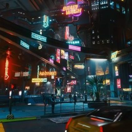 Как Cyberpunk 2077 выглядит на GeForce RTX 30 с ретрейсингом