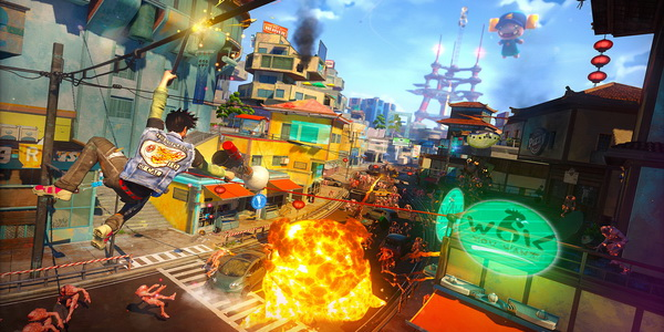 Sunset Overdrive вышла на PC